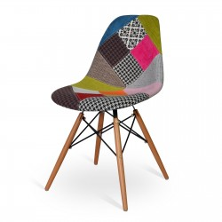 SILLA EAMES DSW STYLE PATCHWORK