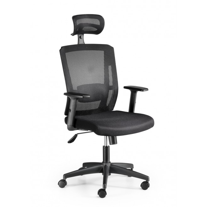 Silla de oficina ergon mica modelo sofia de euromof for Sillas de estudio ergonomicas