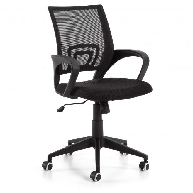 Silla de escritorio Modelo EBOR negra