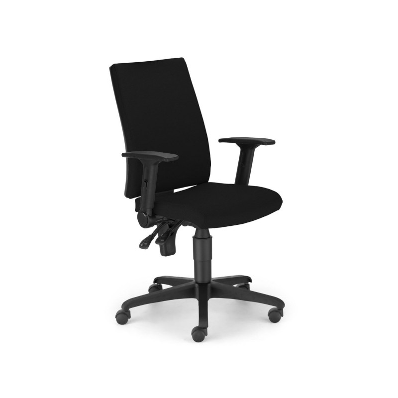 Silla de oficina i line nowy styl for Sillas para oficina sodimac