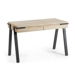 Escritorio en madera 125x60 Modelo DISSET