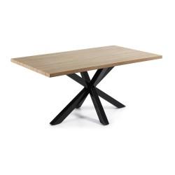 Mesa de reuniones 160x90 Modelo AYRA negro