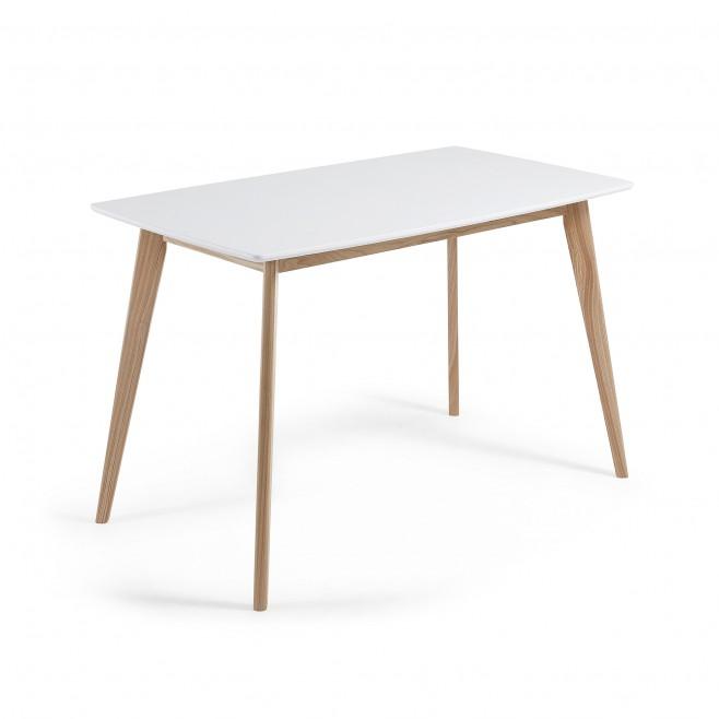 Mesa lacada en blanco 120x75 Modelo UNIT