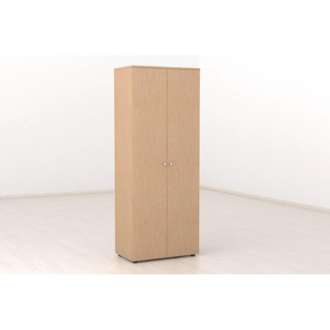 Armario en melamina con puertas 205x80
