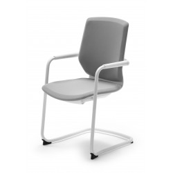 Silla confidente Modelo OXFORD blanca