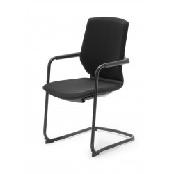 Silla confidente Modelo OXFORD negra
