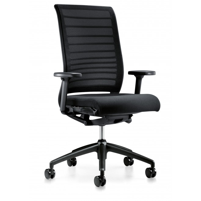 Silla de oficina ergonomica hero interstuhl for Sillas para trabajo industrial