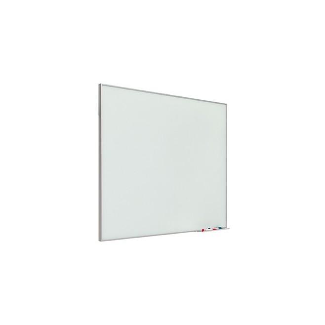 Pizarra mural de cristal marco mini 80 x 100 cm.