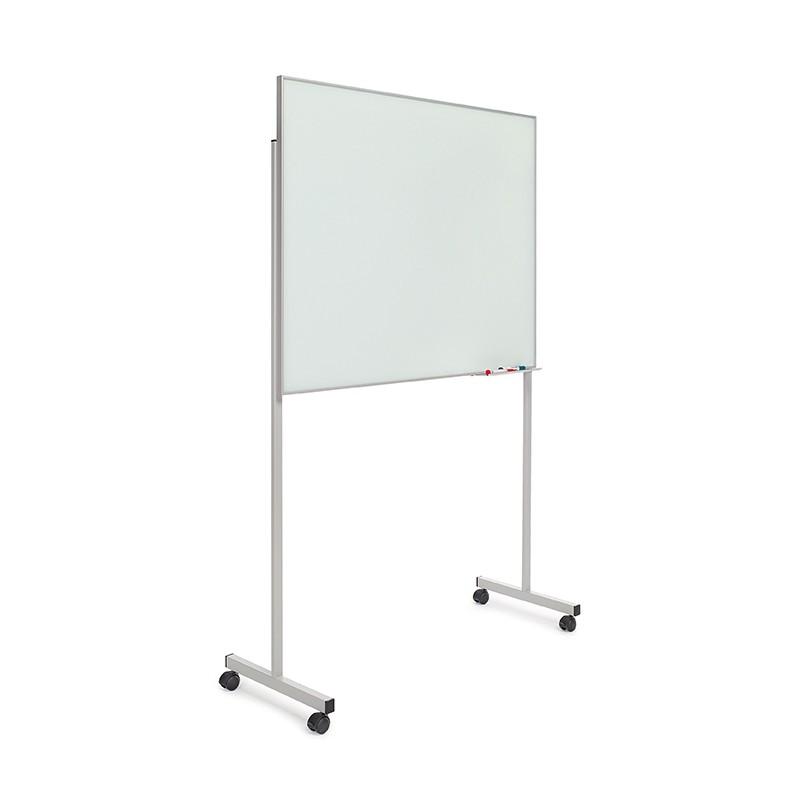 Pizarra cristal marco mini con soporte T de 100 x 80 cm. - Castilla ...