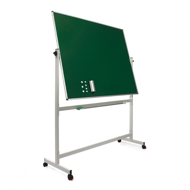 Pizarra Verde Laminada Volteable 120 x 150 cm.