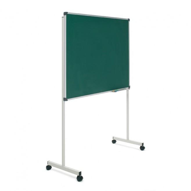 """Pizarra Laminada verde Soporte """"T"""" 120 x 150 cm."""