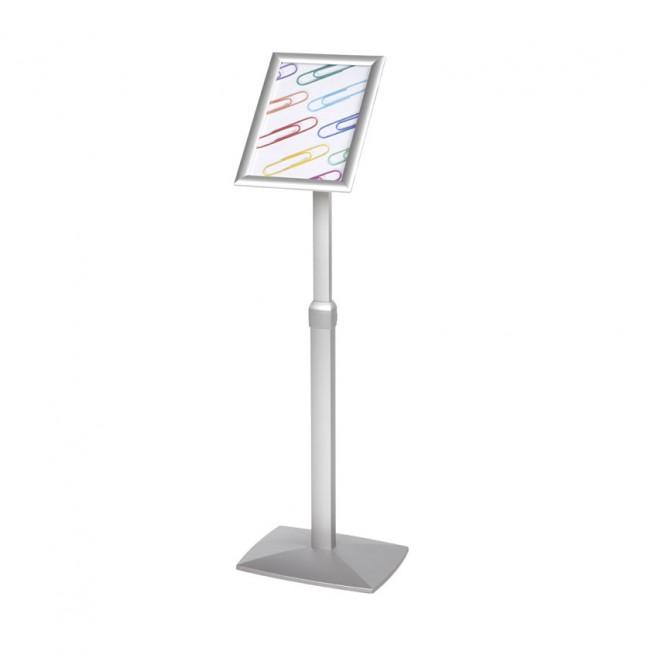Atril marco abatible. flexible 90º y regulable en altura. Din A4