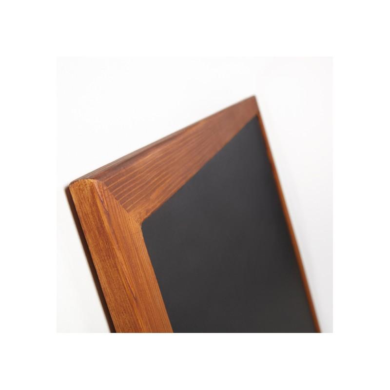 Basic.Pizarra negra marco madera 40 x 50 cm. - Castilla Instalacion