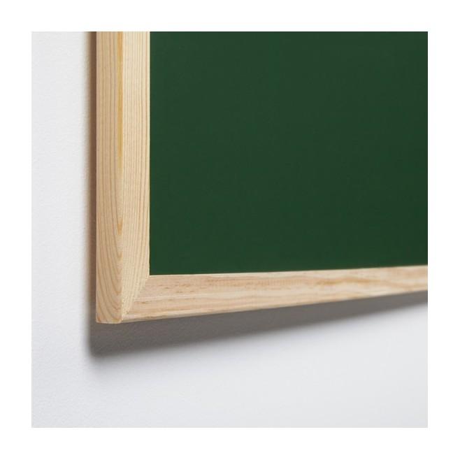 Basic. Pizarra verde marco pino 90 x 120 cm. (6 unidades)
