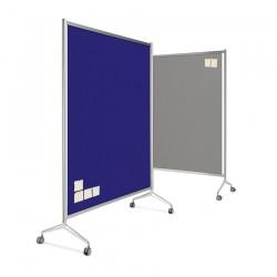 Panel chapa tapizado gris 55 x 99 cm.