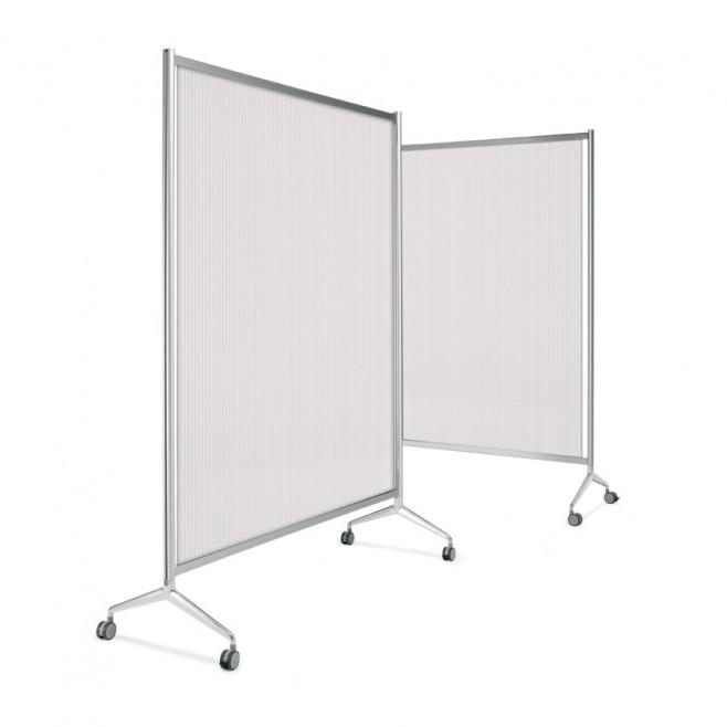 Panel chapa policarbonato gris 27 x 99 cm.