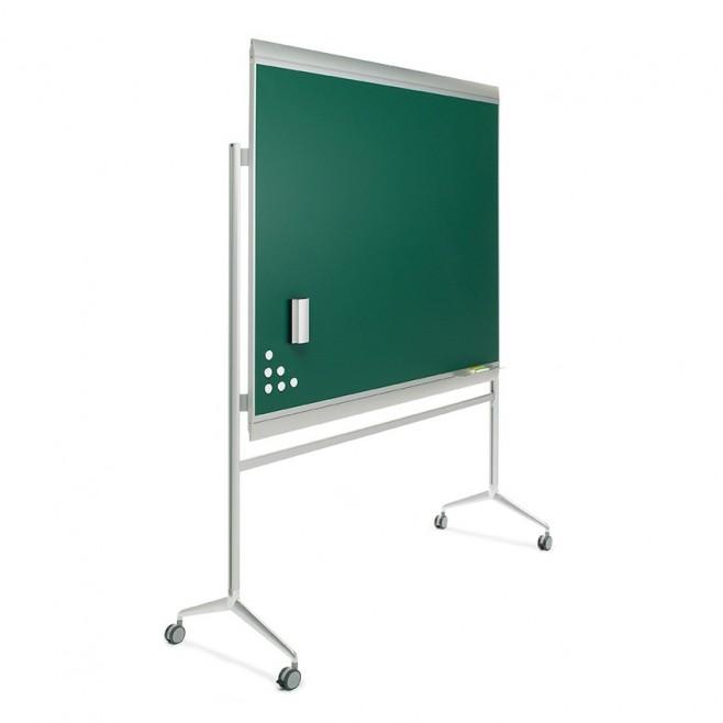 Pizarra verde Zénit Acero Vitrificado 100 x 150 cm. + soporte Y2