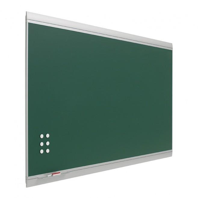 Pizarra verde Zénit Acero Vitrificado Mural 120 x 250 cm.