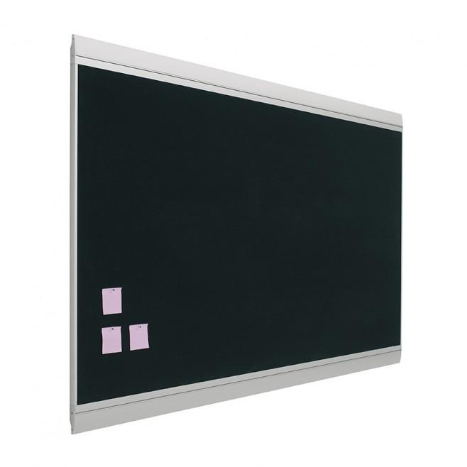 Tablero fondo tapizado Zénit marco aluminio 40 x 60 cm