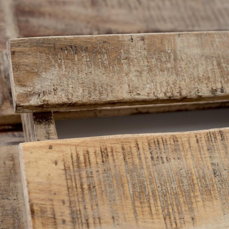 Madera pared paredes revestidas con madera reciclada - Revisteros de pared ...