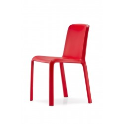 SILLA SNOW 300 PEDRALI COLOR ROJO