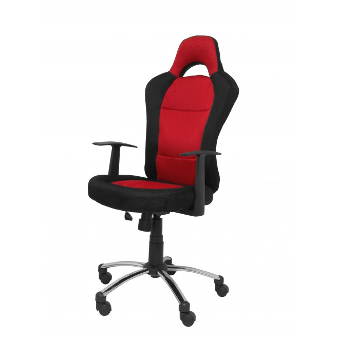 Silla de oficina tipo gaming for Sillas para trabajo industrial