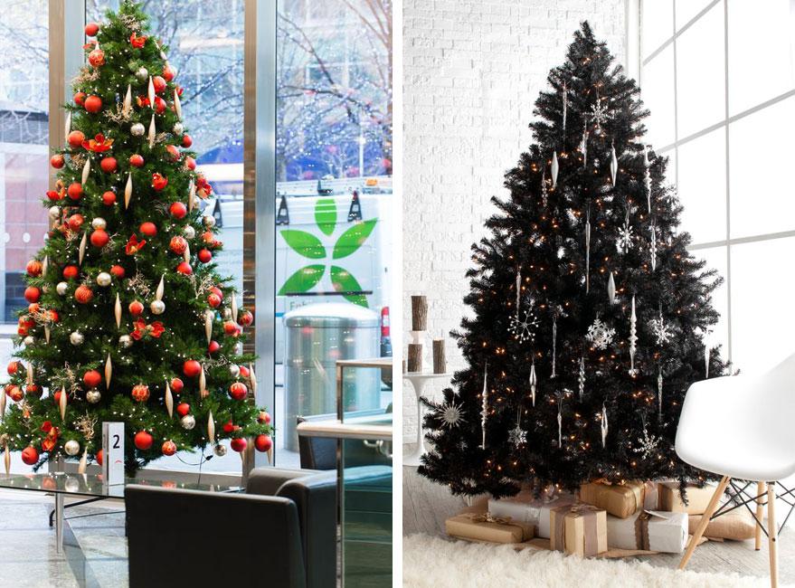 Arbol navidad oficina blog castilla sa - Decoracion de navidad para oficina ...
