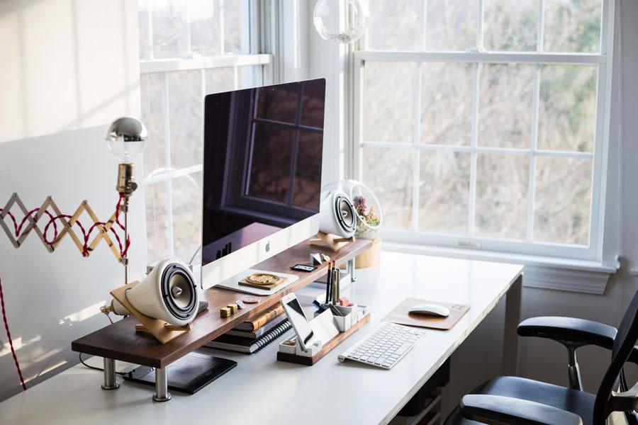 decorar y amueblar una oficina pequeña