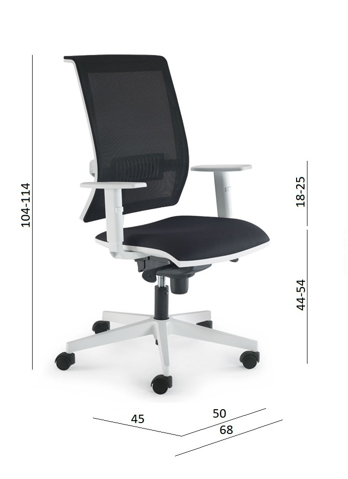 medidas silla de oficina luyando