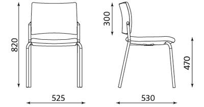 silla de visita