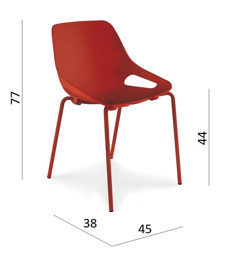 dimensiones silla Luyando